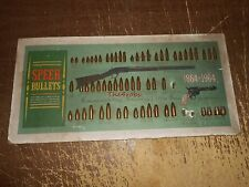 Speer Bullets 1864-1964 100 Year Display Board