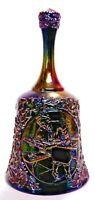 Fenton Amethyst Carnival Glass Craftsman Bell