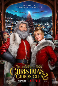 Christmas Chronicles 2 DVD (2020)  - BRAND NEW  FREE SHIPPING WITH TRACKING