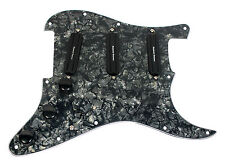 Seymour Duncan All Hot Rails Loaded Strat Pickguard Black Pearl / Black