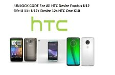 UNLOCK CODE For All HTC Desire Exodus U11+ U12+ Desire 12s HTC One X10 Fast Code