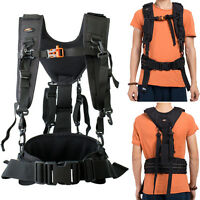 DSLR SLR Camera Shoulder Strap Waist Strap Belt Padded Camera Lens Bag Holder