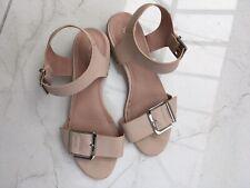 Topshop Nude Sandals Size 6