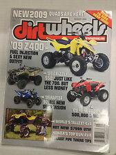 Dirt Wheels Magazine Suzuki Z400 Grizzly 550 August 2008 032617nonR