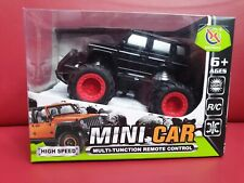 Mercedes G-class R/C plastic 4x4 Black MIB OVP BRAND NEW 1:43 Mini Car
