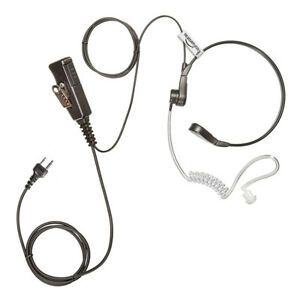 THE-SECURITY-STORE Tactical Throat Earpiece for ICOM Radio