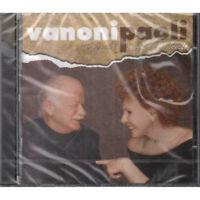 Vanoni / Paoli CD Ti Ricordi No Non Mi Recuerdo Columbia 517823 2 Sellado