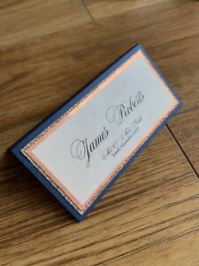 Personalised Rose Gold Table Place Name Cards for Weddings, Conference, Parties