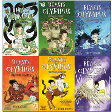 Beasts of Olympus Collection 6 Books Set Beast Keeper, Zeus's Eagle, Lucy Coats