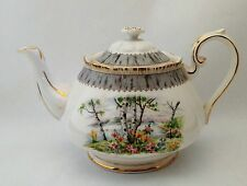 Royal Albert Silver Birch Large 5 Cup Teapot With Lid