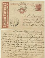 214.Italy.Cartolina postale.1928.Intero pubblicitario CINGHIE PIRELLI.Flessibili