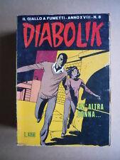DIABOLIK Anno XVIII n°8  [G260] MEDIOCRE