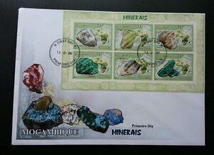 Mozambique Minerals 2002 Stone (miniature FDC) *rare
