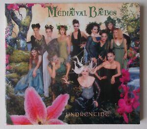 MEDIAEVAL BAEBES Undrentide  CD album  fold out  digipak  2000 Sony John Cale