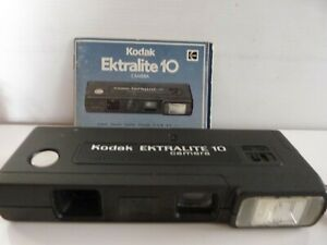 1978 Kodak  Ektralite 10 Film Camera with manual.