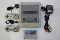 Nintendo Super Famicom Console & Donkey Kong 2 SFC SNES Japan Import K1299M