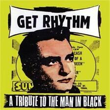 GET RHYTHM CD A Tribute To The Man In Black Johnny Cash - Rockabilly Raucous NEW