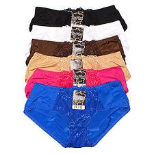 Panties For Men. Two Pack Lace Front Bikini Panties. Crossdressing, Sissy 7244