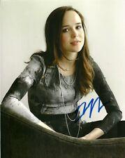 Ellen Page Autographed Signed 8x10 Photo COA