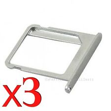 Lot of 3 iPhone 4 SIM Card Tray 4 CDMA Holder for Apple iPhone Sim Tray 4S