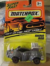 Matchbox Rhino Rod #53 Gray