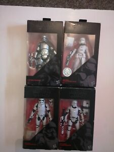 Star Wars The Black Series 6inch First Order Bundle.