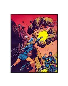 Lady Blackhawk Rules! DC comics Silver-Age style sericel 1960