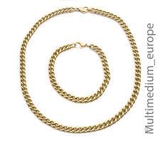 Halskette Armband Armkette Pierre Lang stark vergoldet necklace gold plated