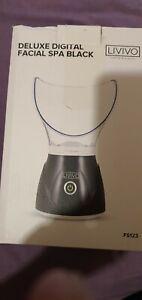 Livivo Deluxe Digital Facial Spa Black
