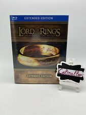 The Lord of the Rings: Extended Trilogy (Blu-ray Disc, 2011, 15-Disc Set,...