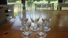 Crystal Ice Tea Glasses Water Goblets twisted stem tall elegant glasses 5 15oz