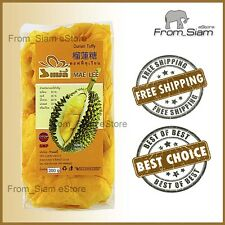 DURIAN Fruit Soft TOFFEE Chewy Candy Sweet Thai Sweetmeats - 200g (7.05oz)