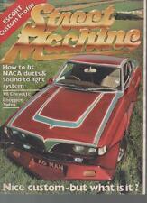 STREET MACHINE MAGAZINE  NOVEMBER 1981 VOL.3 NO.7  ESCORT: CUSTOM PROFILE    LS