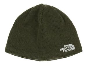The North Face 250851 Kids Bones Recycled Beanie Green/Gray One Size