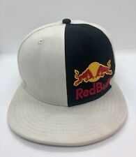 New Era Red Bull Hat Cap Used Beanie 🎄 Racing Team Beige 59 Fifty Size US 7.1/8