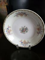 """THE HINODE JAPAN SOUP BOWL 7 1/2"""" ROUND WITH FLORAL DESIGN"""