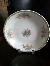 "THE HINODE JAPAN SOUP BOWL  7 1/2"" ROUND WITH FLORAL DESIGN"