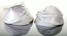 20 White Satin Kippa Yarmulke Shabbat Jewish Yamakah Kippa Hat Wedding Holy Cap