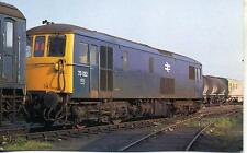 Electro Diesel Class 73 Blue Livery 73132 Hither Green 1978 unused OPC postcard