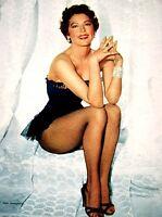 Pinup Lithograph Ava Gardner 1955 VTG Cheesecake Original Litho Promo Photo Rare