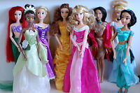 "Disney Princess Singing Doll 17"" Rapunzel/Pocahontas/Tiana/Belle/Aurora/Jasmine"