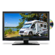 "Ferguson 22"" HD LED 12v Volt TV Freeview & DVD for Caravan Motorhome Truck HGV"