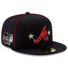 Atlanta Braves New Era 2019 All Star Game Patch 59Fifty 5950 Hat 7 5/8 NEW Rare