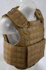 Body Armor Plate Carrier Coyote Vest MOLLE