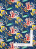 Nautical Tropical Ocean Fish Blue Cotton Fabric Windham Coral Reef By The Yard