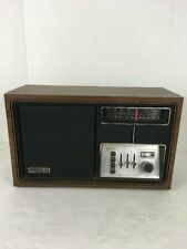Vintage 1970's Zenith Radio Wood Finish