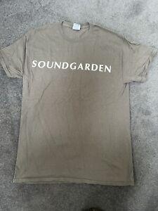 Official Soundgarden T-Shirt Grey M