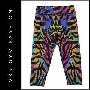 VRS Gym Women Yoga Pants Elastic Waist Gym Leggings Sports Fitness Pants Medium