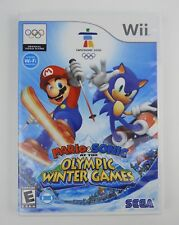 Nintendo Wii Mario & Sonic at the Olympic Winter Games, Vancouver 2010 Complete