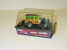 Vintage Aurora AFX #1920 '29 Model A Woodie Slot Car in Case, Banded